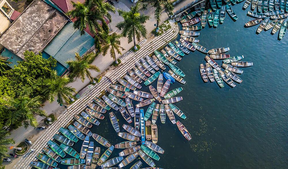 Creazione sito web per riprese aeree e foto con Drone per Aerial Capture